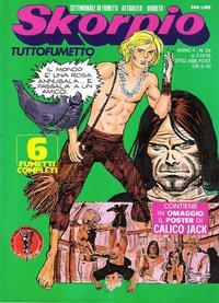Cover for Skorpio (Eura Editoriale, 1977 series) #v2#26