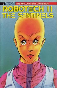 Cover for Robotech II: The Sentinels The Malcontent Uprisings (Malibu, 1989 series) #3