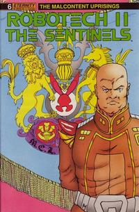 Cover for Robotech II: The Sentinels The Malcontent Uprisings (Malibu, 1989 series) #6