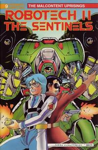 Cover Thumbnail for Robotech II: The Sentinels The Malcontent Uprisings (Malibu, 1989 series) #9