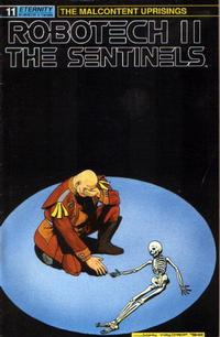 Cover Thumbnail for Robotech II: The Sentinels The Malcontent Uprisings (Malibu, 1989 series) #11