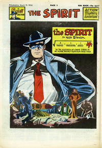 Cover Thumbnail for The Spirit (Register and Tribune Syndicate, 1940 series) #3/12/1950