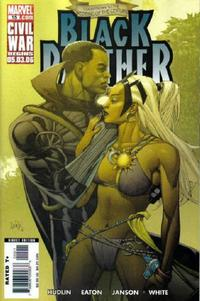 Cover Thumbnail for Black Panther (Marvel, 2005 series) #15 [Direct Edition]