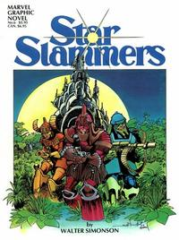 Cover Thumbnail for Marvel Graphic Novel (Marvel, 1982 series) #6 - Star Slammers