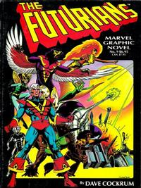 Cover for Marvel Graphic Novel (Marvel, 1982 series) #9 - The Futurians