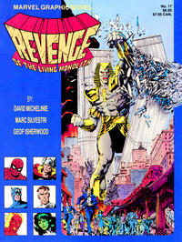 Cover for Marvel Graphic Novel (Marvel, 1982 series) #17 - Revenge of the Living Monolith