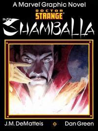 Cover Thumbnail for Marvel Graphic Novel: Doctor Strange: Shamballa (Marvel, 1986 series)