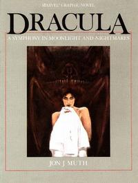Cover Thumbnail for Dracula -- A Symphony in Moonlight and Nightmares (Marvel, 1986 series)