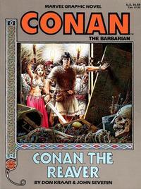 Cover Thumbnail for Marvel Graphic Novel: Conan the Reaver (Marvel, 1987 series) #[nn]