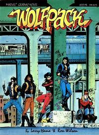 Cover Thumbnail for Marvel Graphic Novel: Wolfpack (Marvel, 1987 series) #[nn]