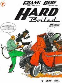 Cover Thumbnail for Hard Boiled (Dark Horse, 1990 series) #1