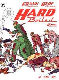 Cover Thumbnail for Hard Boiled (Dark Horse, 1990 series) #2