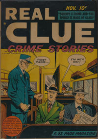Cover Thumbnail for Real Clue Crime Stories (Hillman, 1947 series) #v3#9 [33]