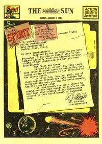 Cover Thumbnail for The Spirit (Register and Tribune Syndicate, 1940 series) #1/7/1951