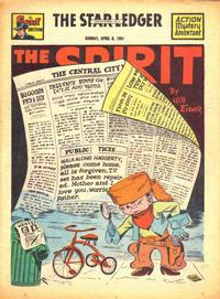 Cover Thumbnail for The Spirit (Register and Tribune Syndicate, 1940 series) #4/8/1951