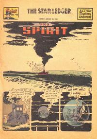 Cover Thumbnail for The Spirit (Register and Tribune Syndicate, 1940 series) #1/30/1949