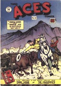 Cover Thumbnail for Three Aces Comics (Anglo-American Publishing Company Limited, 1941 series) #52