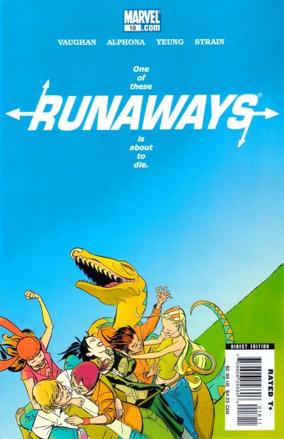 Cover for Runaways (Marvel, 2005 series) #18