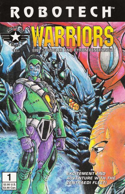 Cover for Robotech Warriors (Academy Comics Ltd., 1994 series) #1