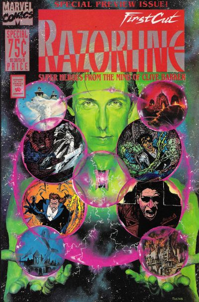Cover for Razorline: The First Cut (Marvel, 1993 series) #1