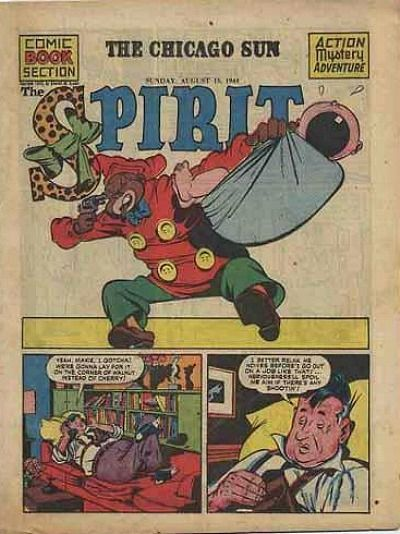 Cover for The Spirit (Register and Tribune Syndicate, 1940 series) #8/13/1944