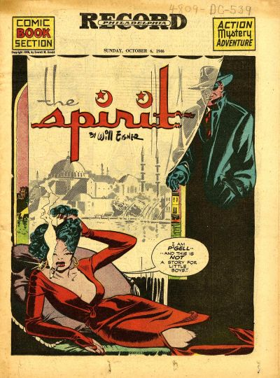 Cover for The Spirit (Register and Tribune Syndicate, 1940 series) #10/6/1946