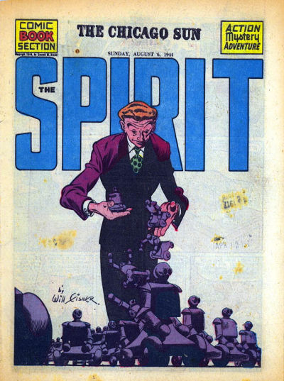 Cover for The Spirit (Register and Tribune Syndicate, 1940 series) #8/6/1944