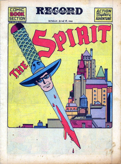 Cover for The Spirit (Register and Tribune Syndicate, 1940 series) #6/11/1944