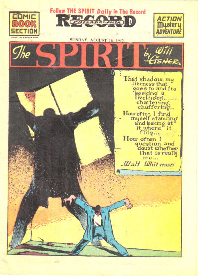 Cover for The Spirit (Register and Tribune Syndicate, 1940 series) #8/16/1942