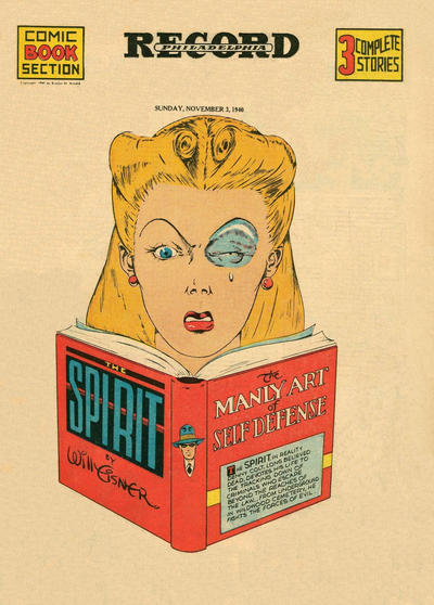 Cover for The Spirit (Register and Tribune Syndicate, 1940 series) #11/3/1940