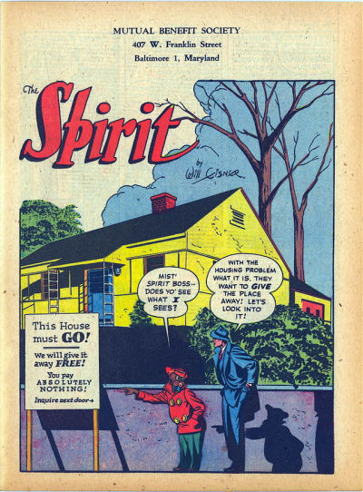 Cover for The Spirit (Register and Tribune Syndicate, 1940 series) #2/25/1945