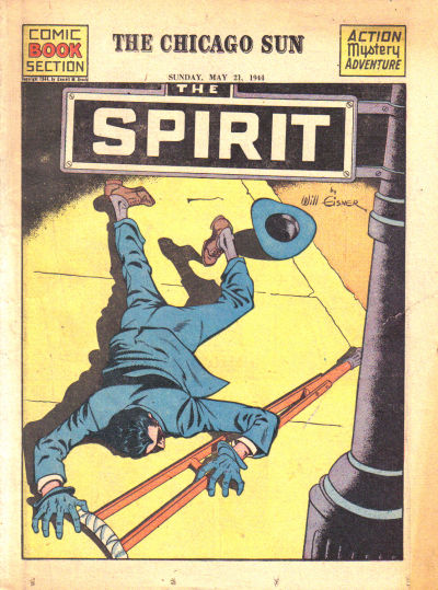 Cover for The Spirit (Register and Tribune Syndicate, 1940 series) #5/21/1944