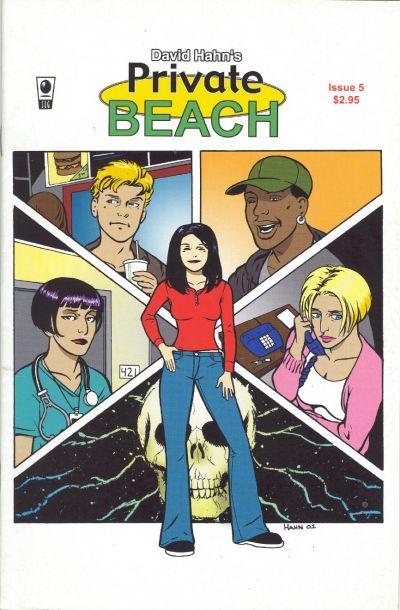 Cover for Private Beach (Slave Labor, 2001 series) #5