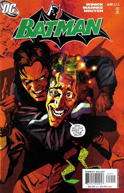 Cover for Batman (DC, 1940 series) #649