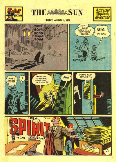 Cover for The Spirit (Register and Tribune Syndicate, 1940 series) #1/1/1950
