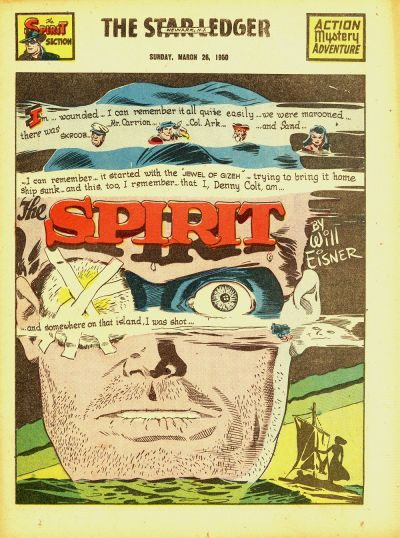 Cover for The Spirit (Register and Tribune Syndicate, 1940 series) #3/26/1950