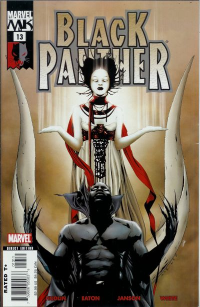 Cover for Black Panther (Marvel, 2005 series) #13 [Direct Edition]