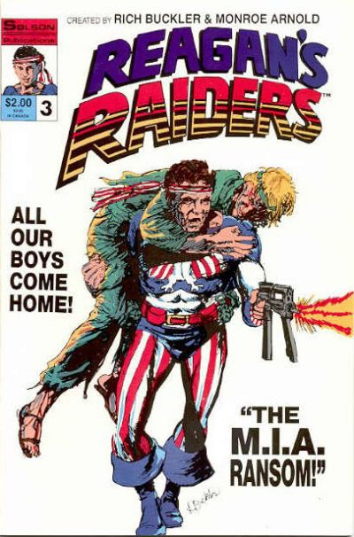 Cover for Reagan's Raiders (Solson Publications, 1986 series) #3