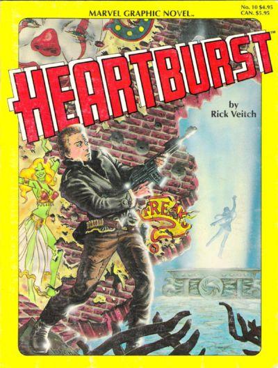 Cover for Marvel Graphic Novel (Marvel, 1982 series) #10 - Heartburst