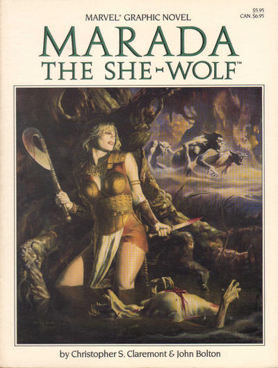 Cover for Marada the She-Wolf (Marvel, 1985 series)