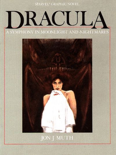 Cover for Dracula -- A Symphony in Moonlight and Nightmares (Marvel, 1986 series)