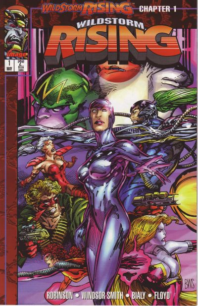 Cover for Wildstorm Rising (Image, 1995 series) #1 [Newsstand]