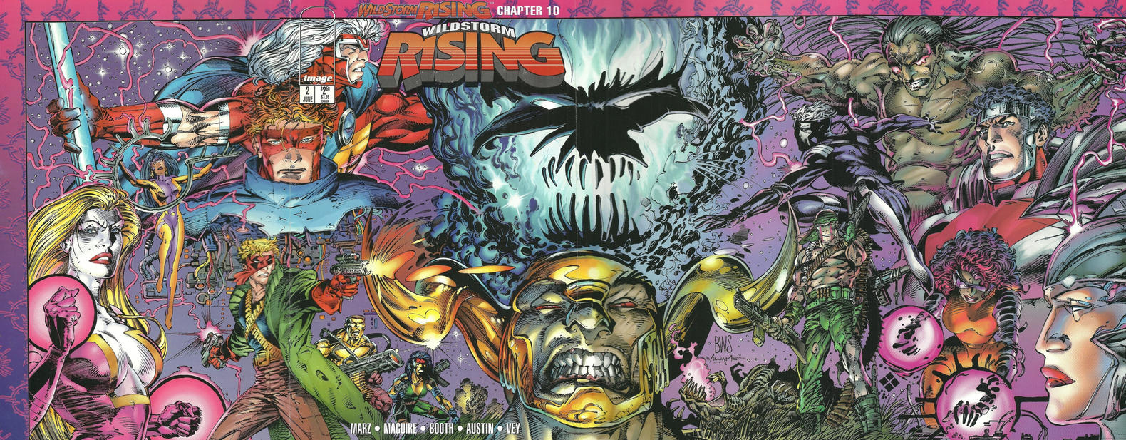 Cover for Wildstorm Rising (Image, 1995 series) #2
