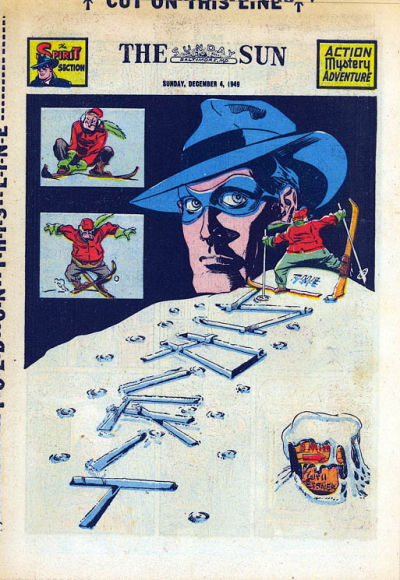 Cover for The Spirit (Register and Tribune Syndicate, 1940 series) #12/4/1949