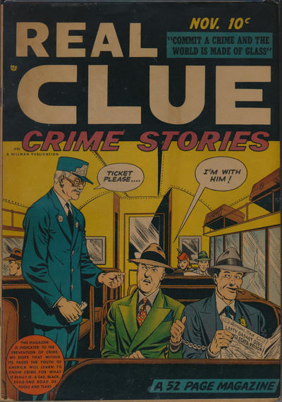 Cover for Real Clue Crime Stories (Hillman, 1947 series) #v3#9 [33]