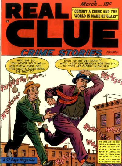 Cover for Real Clue Crime Stories (Hillman, 1947 series) #v5#1 [49]
