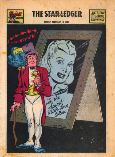 Cover for The Spirit (Register and Tribune Syndicate, 1940 series) #2/18/1951