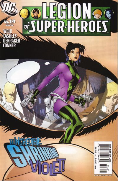 Cover for Legion of Super-Heroes (DC, 2005 series) #14