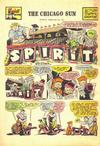 Cover for The Spirit (Register and Tribune Syndicate, 1940 series) #2/16/1947