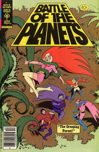 Cover Thumbnail for Battle of the Planets (Western, 1979 series) #4 [Gold Key Variant]